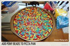 Melting Pony Beads   Nikitaland Plastic Beads Melted, Melted Pony Beads, Cake And Cupcake Stand, Cupcake Cakes, Pony Bead Crafts, Melting Beads, Fun Crafts, Sprinkles, Helpful Hints