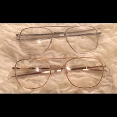 Trendy Eyeglasses Both eyeglasses are the same style and have never been worn, non name brand prescription eyeglasses.. ray ban listing for views 10 each Ray-Ban Accessories Glasses