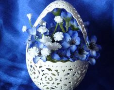 Carved Goose Egg: Going to the Tropics di loxie28 su Etsy