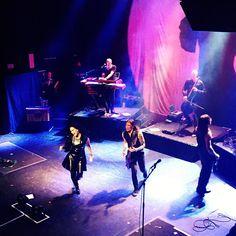 Tarja Turunen and her band: Alex Scholpp, Max Lilja, Tim Shreiner, Kevin Chown and Christian Kretschmar live at BARTS, Barcelona, Spain. The Shadow Shows, 06/11/2016 #tarja #tarjaturunen #theshadowshows #tarjalive PH: Cinta Amate https://www.instagram.com/cintaykate/