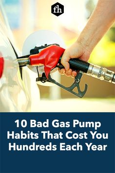 These gas pump habits may seem harmless, but they're likely costing you money every time you fill up. Cheap Gas Prices, Gas Lights, Rewards Credit Cards, Gas Pumps, Saving Ideas, Ways To Save Money, Saving Money, Fill, Top