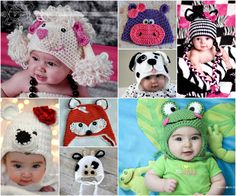 Animal Hats Free Crochet Patterns