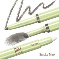 Pixi by Petra Lid & Line is an all-in-one wand that provides an eye shadow, eye liner and smudger in coordinated tones for simple but stunning eye perfection Eyebrow Makeup, Eyeshadow Makeup, Eyeliner, Pixie Makeup, Smudger, Stunning Eyes, Lip Pencil, Makeup Palette, Beauty Shop