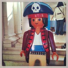 Expo Playmobil - Hôtel de Ville - Versailles #playmobil #jouets #expo #versailles #pirates #toys #france #