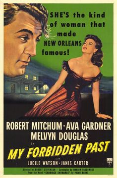 1951 movie posters   My Forbidden Past Movie Posters From Movie Poster Shop