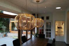 Great dining room lighting: the Anwar T45 pendant, designed by Stephen Burks for Parachilna.
