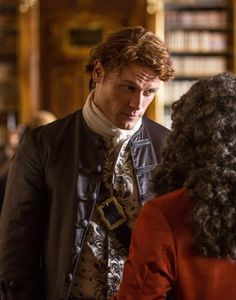Jamie Fraser (Sam Heughan) in Season Two of Outlander on Starz