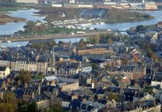 Honfleur - Normandy village in France