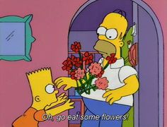 39 Ideas funny anime subtitles the simpsons for 2019 Simpsons Cartoon, Simpsons T Shirt, Best Cartoons Ever, Cool Cartoons, Homer Simpson, Simpson Wave, Funny Love Pictures, Funny Relationship Memes, Funny Tumblr Posts
