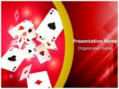 Gambling Playing Cards Powerpoint Template is one of the best PowerPoint templates by EditableTemplates.com. #EditableTemplates #PowerPoint #Entertainment #Vegas #Gambling #Casino #Gamble #Leisure #Lifestyles #Luxury