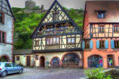 France For Seniors Travel Senior Trip, Beaux Villages, Castle, Mansions, Architecture, House Styles, Kaysersberg, Alsace France, Lyon