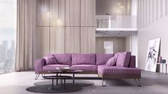 New design by DVSFurniture Sectional Sofa, Couch, Furniture Catalog, Mobile Home, News Design, Luxury Furniture, Barcelona, Rustic, Living Room