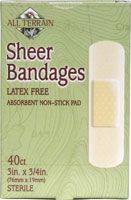 All Terrain Sheer Bandages Latex Free #BacktoSchool