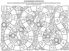Album Archive - Descubro Números 0 al 100 Kindergarten Math Worksheets, Maths Puzzles, School Worksheets, Worksheets For Kids, Math For Kids, Fun Math, Math Games, Preschool Activities, Mathematics Geometry