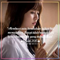 Drama School 2015 Who Are You Kim So Hyun Quotes Drama Korea, Korea Quotes, Who Are You School 2015, 2015 Quotes, Drama School, School Quotes, Kdrama, Humor, Film