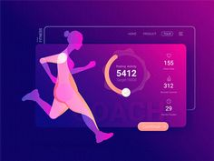 Animated of Virtual Fitness Instructor app by Daz_Qu