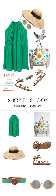 """""""Dress Under $100'"""" by dianefantasy ❤ liked on Polyvore featuring MANGO, Forever 21, Billabong, Marni, polyvorecommunity, under100 and polyvoreeditorial"""