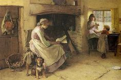 When the Work Is Done; Carlton Alfred Smith (1853 – 1946), English