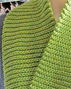 crochet instructions for slip stitch rib