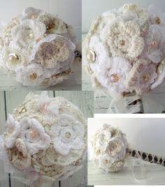 Shabby Chic wedding bouquet