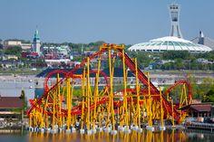 La Ronde Crédit : © La Ronde (Membre de la Famille Six Flags), Pierre Cloutier #Montreal #attraction #LaRonde