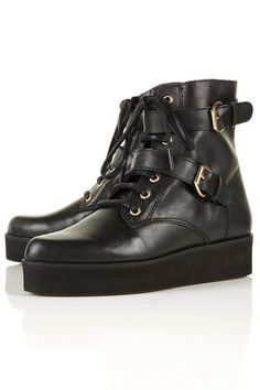 TOPSHOP *ALLO* Pointed Creeper Boots