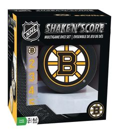 Boston Bruins Shake N' Score Game