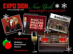 Expo Sign is a custom sign shop located in NJ & NYC. We have over 60 years of combined experiance. Expo Sign can attend your custom sign needs at top quality and quick turnaround. 3d Letters, Light Letters, Channel Letters, Marquee Sign, Event Banner, Asdf, Window Stickers, Vinyl Lettering, Shop Signs
