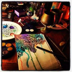 Explore amazing art and photography and share your own visual inspiration! Doodle 2, Tangle Doodle, Tree Sculpture, Sculptures, Zentangle Patterns, Zentangles, Rustic Colors, Visionary Art, Psychedelic Art