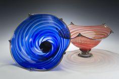 Rosetree Blown Glass Studio Regal Bowl
