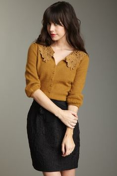 the 'Maggie cardigan' is, in fact, so Darling.