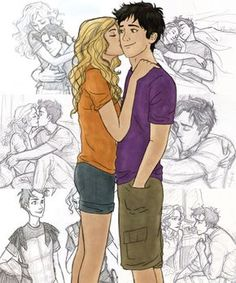 To me, this is probably one of the most accurate Percabeth drawings. It doesn't seem so unrealistic.