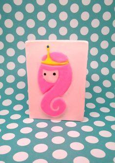 Princess Bubblegum Soap! Bubblegum scented! <3