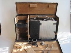 Burke & James Universal Cine Motion Picture Camera Vintage Cameras, Suitcase, Pictures, Photos, Suitcases, Photo Illustration, Resim, Clip Art