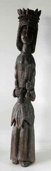 Louco (Boaventura da Silva Filho). 120x22 cm