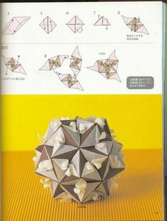 Adobrasia: Kusudama Diagram Kaaru