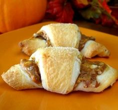 "Pumpkin Crescent Rolls: ""These are even tastier than what I expected. They are almost like little pumpkin pies in a roll."" -Color Guard Mom"