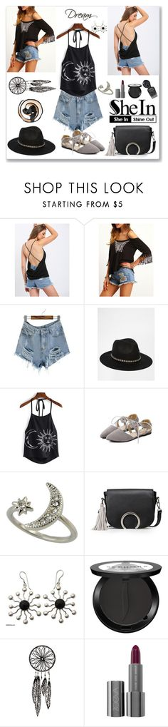 """""""Shein Halter Cami Top"""" by ludmyla-stoyan ❤ liked on Polyvore featuring ASOS, NOVICA and Sephora Collection"""