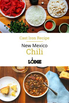 Football season may be over, but our love for weekend chili recipes remains strong. This New Mexico chili recipe is simple and comforting, with a kick of spice and a great umami flavor, thanks to the texture of the pureed beans.