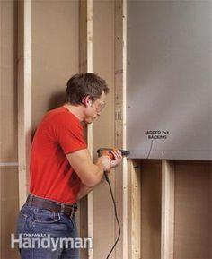7 Drywall Installation Mistakes You've Probably Made Before - home repair Mobile Home Repair, Diy Home Repair, Basement Flooring, Basement Remodeling, Basement Ideas, Flooring Ideas, Remodeling Ideas, Gray Basement, Wet Basement