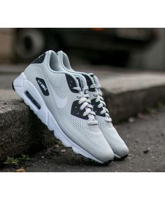 Nike Air Max 90 Ultra Essential Dark Grey White Logo Shoes Sale Nike  Running Shoes Women 6e1100a532d64