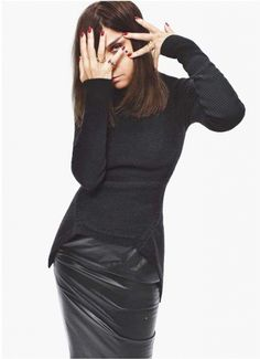 Carine Roitfeld ...I know she always looks tired but love her !