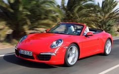 Porsche 911 Carrera Cabriolet - great for a sunny day, but loses the coupe's styling cohesion