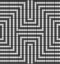 Wayuu Mochila chart optical illusion