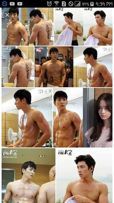 Ji Chang Wook Ji Chang Wook Abs, Ji Chang Wook Smile, Ji Chang Wook Healer, Handsome Asian Men, Sexy Asian Men, Sexy Men, Hot Korean Guys, Korean Men, Jung So Min