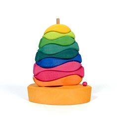 Fish and Boat Stacking Toy