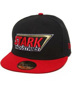 caacaeb6138 Stark Industries Hat Iron Man Cap Tony Infinity Gauntlet Avengers ...
