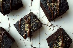 coffee-hazelnut brownies