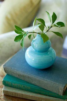 ❧ Couleur : Vert et bleu ❧