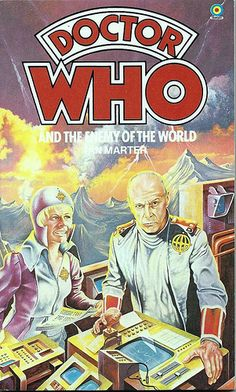 Doctor Who Paperback, Doctor Who and the Enemy of the World by Ian Marter, Number 24 in the Doctor Who Library, A Target Book, Reprinted 1983.